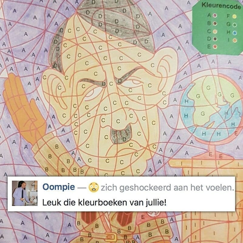Kids Coloring Book Featuring Adolf Hitler Pulled From Shelves After